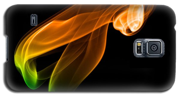 Galaxy S5 Case featuring the photograph smoke XIV by Joerg Lingnau
