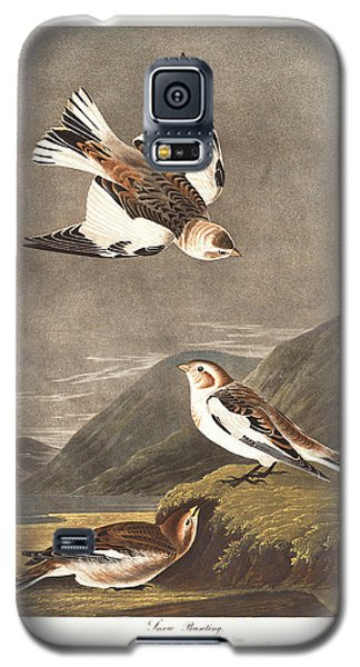 Snow Bunting Galaxy S5 Case
