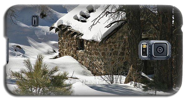 Snow Cabin Galaxy S5 Case