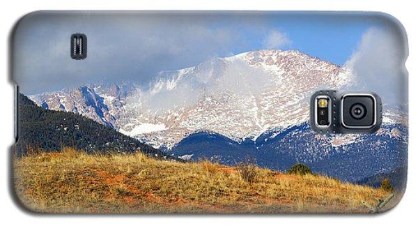 Snow Capped Pikes Peak Colorado Galaxy S5 Case