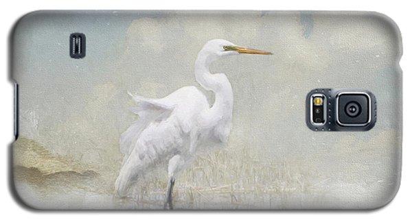 Snowy Egret 2 Galaxy S5 Case