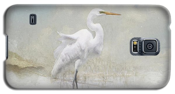 Snowy Egret 2 Galaxy S5 Case
