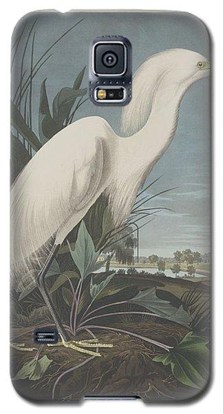 Snowy Heron Or White Egret Galaxy S5 Case