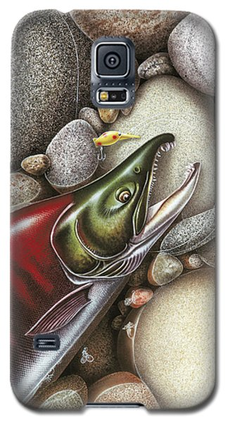 Sockeye Salmon Galaxy S5 Case by JQ Licensing