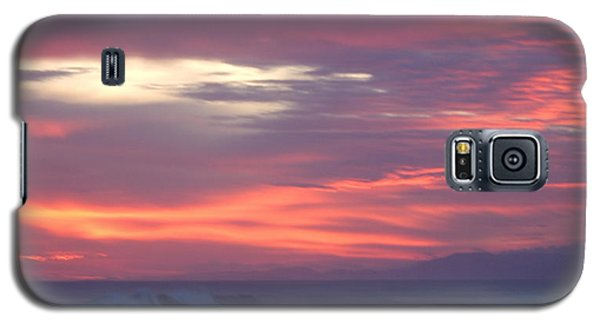 Galaxy S5 Case featuring the photograph Soft Sunset by Michelle Wiarda