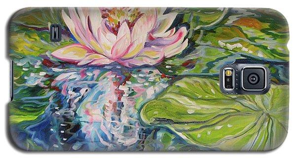 Solitude Waterlily Galaxy S5 Case