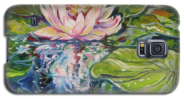Solitude Waterlily Galaxy S5 Case