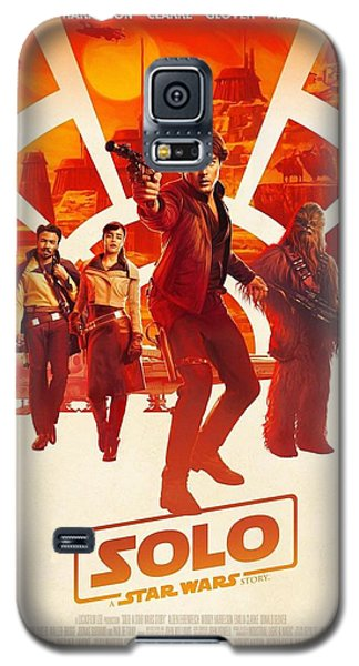 Star Wars Galaxy S5 Case - Solo A Star Wars Story by Geek N Rock