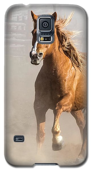 Sombrero Ranch Horse Drive At The Corrals Galaxy S5 Case