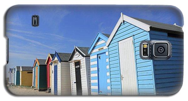 Southwold Beach Huts Galaxy S5 Case