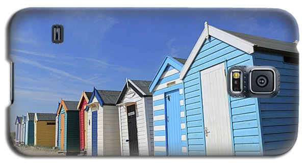 Southwold Beach Huts Galaxy S5 Case