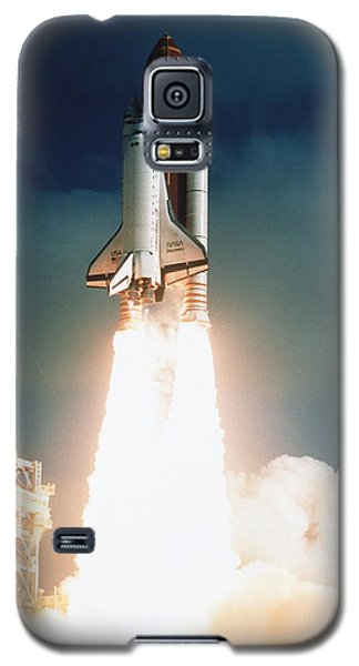 Space Shuttle Launch Galaxy S5 Case by NASA Science Source