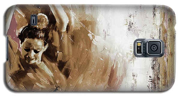 Galaxy S5 Case featuring the painting Spanish Woman Dance  by Gull G