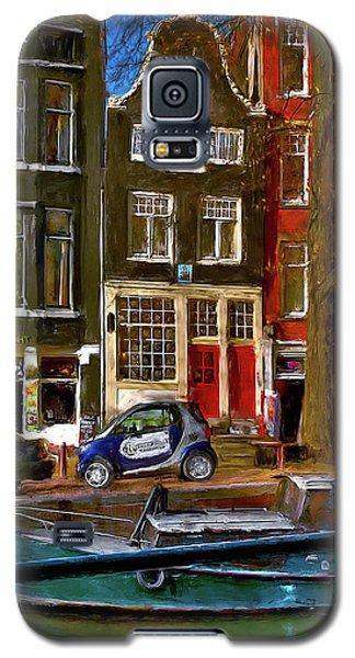 Spiegelgracht 6. Amsterdam Galaxy S5 Case by Juan Carlos Ferro Duque