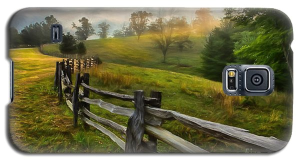 Splash Of Morning Light Ap Galaxy S5 Case by Dan Carmichael
