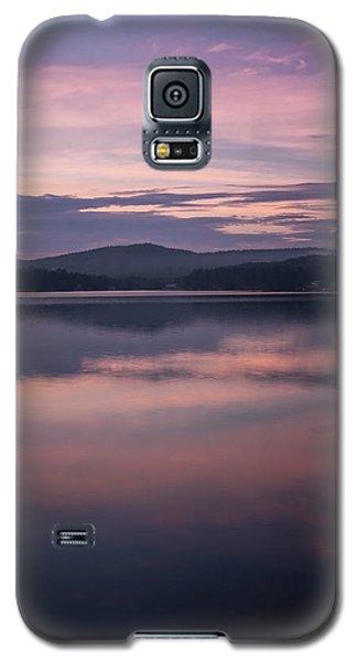 Spofford Lake Sunrise Galaxy S5 Case