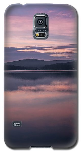 Spofford Lake Sunrise Galaxy S5 Case