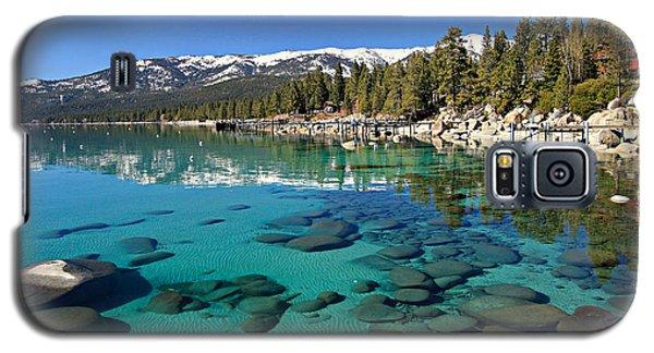 Spring Clarity Galaxy S5 Case