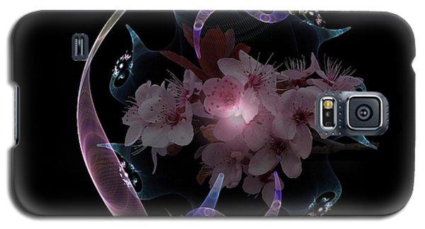 Spring Fractal Galaxy S5 Case