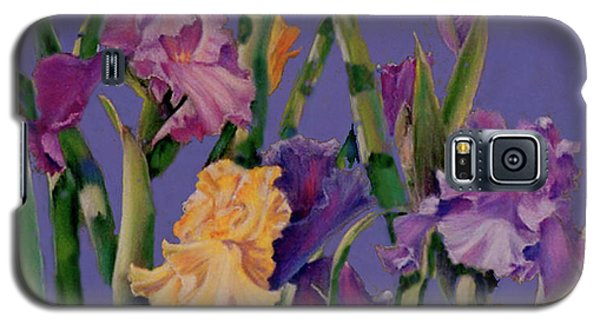 Galaxy S5 Case featuring the pastel Spring Recital by Ann Peck