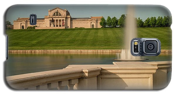 St Louis Art Museum In Forest Park Galaxy S5 Case by Garry McMichael