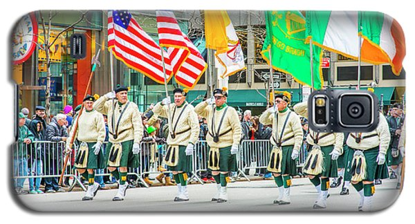 St. Patrick Day Parade In New York Galaxy S5 Case