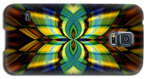 Galaxy S5 Case featuring the photograph Stained Glass by Cherie Duran