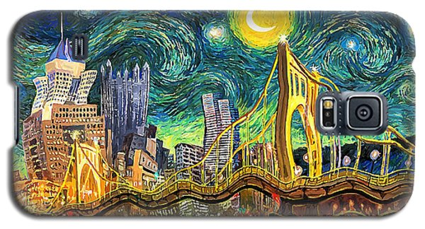 Starry Night In Pittsburgh Galaxy S5 Case