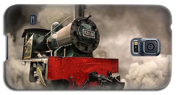 Galaxy S5 Case featuring the photograph Steam Engine by Charuhas Images