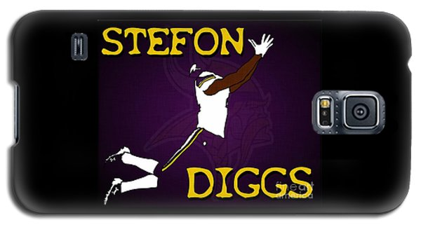 Stefon Diggs Galaxy S5 Case by Kyle West