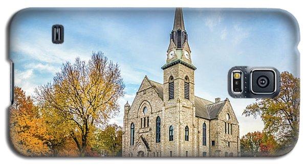 Stone Chapel Fall Galaxy S5 Case