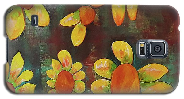 Stoned Flowers Galaxy S5 Case