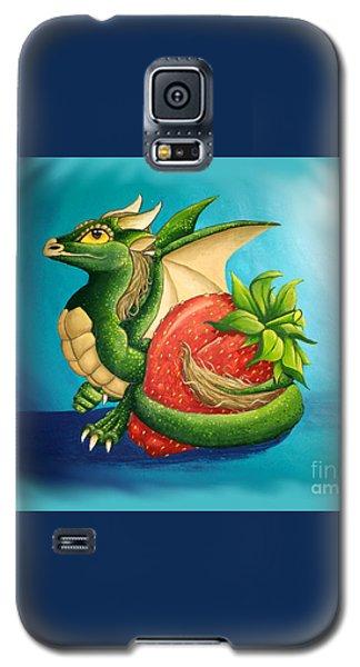 Strawberry Dragon Galaxy S5 Case