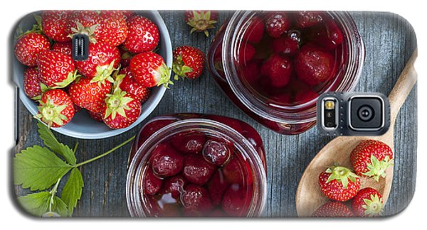 Strawberry Preserve Galaxy S5 Case by Elena Elisseeva