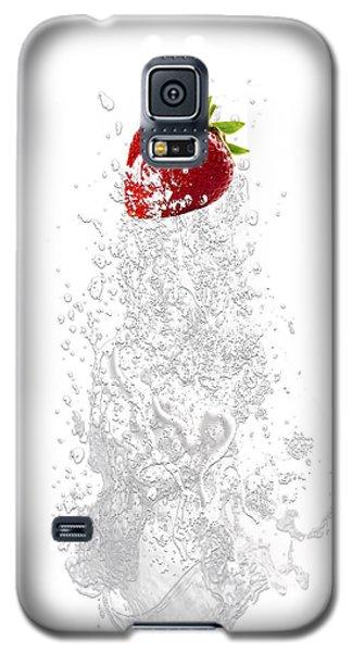 Strawberry Splash Galaxy S5 Case by Marvin Blaine