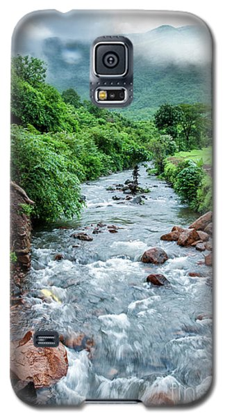Galaxy S5 Case featuring the photograph Stream by Charuhas Images