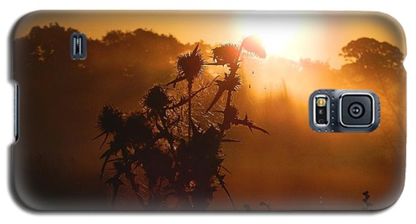 Galaxy S5 Case featuring the photograph Sun Up by Gary Bridger