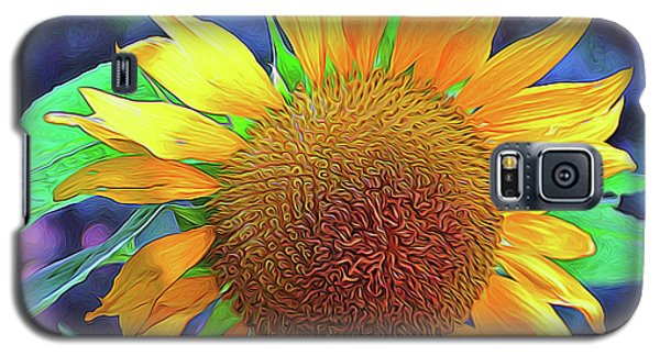 Galaxy S5 Case featuring the photograph Sunflower by Allen Beatty
