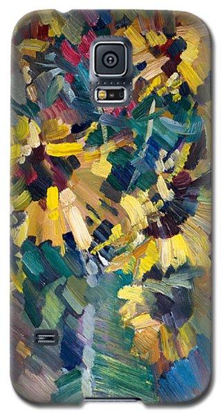 Sunflowers Galaxy S5 Case by Nikolay Malafeev