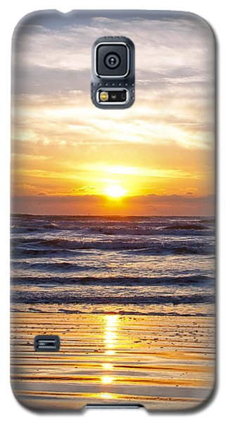Sunrise At Beach Galaxy S5 Case