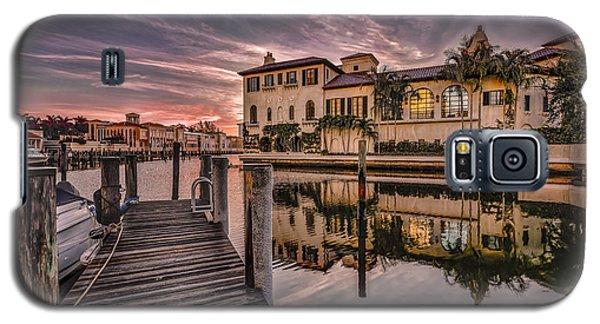 Sunrise At Naples, Florida Galaxy S5 Case