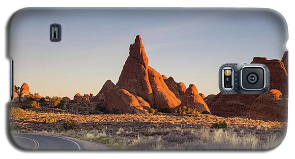 Sunrise In Arches National Park Galaxy S5 Case