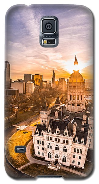Sunrise In Hartford, Connecticut Galaxy S5 Case