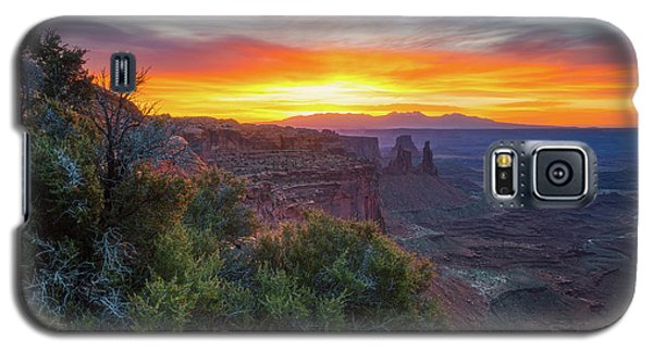 Sunrise Over Canyonlands Galaxy S5 Case by Darren White