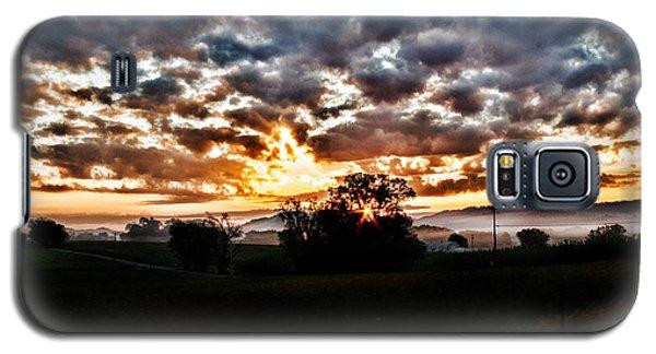 Sunrise Over Fields Galaxy S5 Case