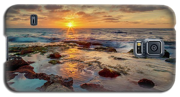 Galaxy S5 Case featuring the photograph Sunset At La Jolla  by Rikk Flohr