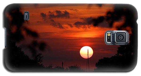 Sunset At Lake Hefner Galaxy S5 Case
