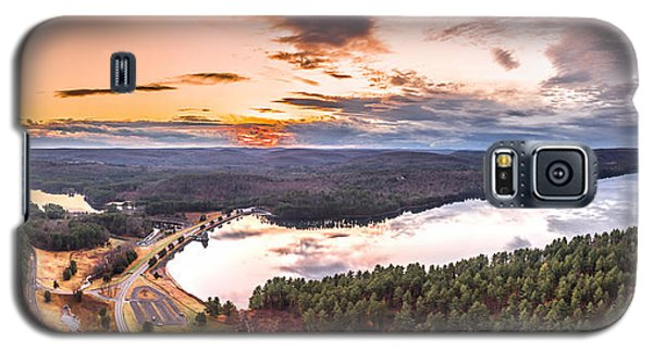 Sunset At Saville Dam - Barkhamsted Reservoir Connecticut Galaxy S5 Case