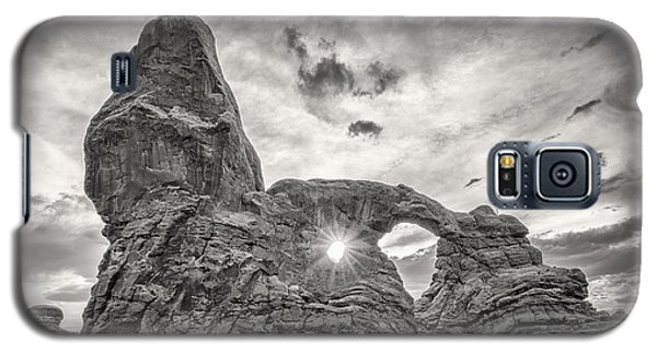 Sunset At Turret Arch Galaxy S5 Case