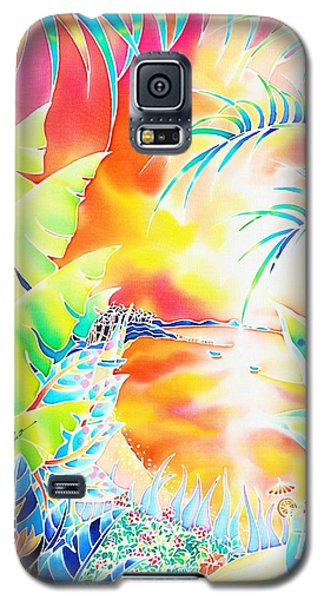 Sunset Cocktail Galaxy S5 Case